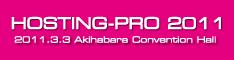 バナー:HOSTING-PRO 2011